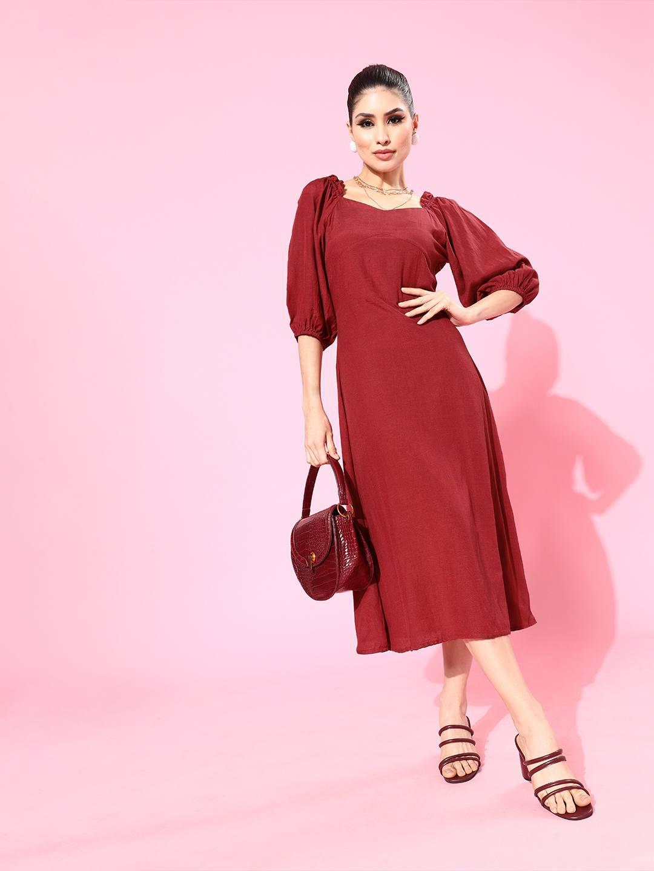 Sweet Heart Waist Fitted dress