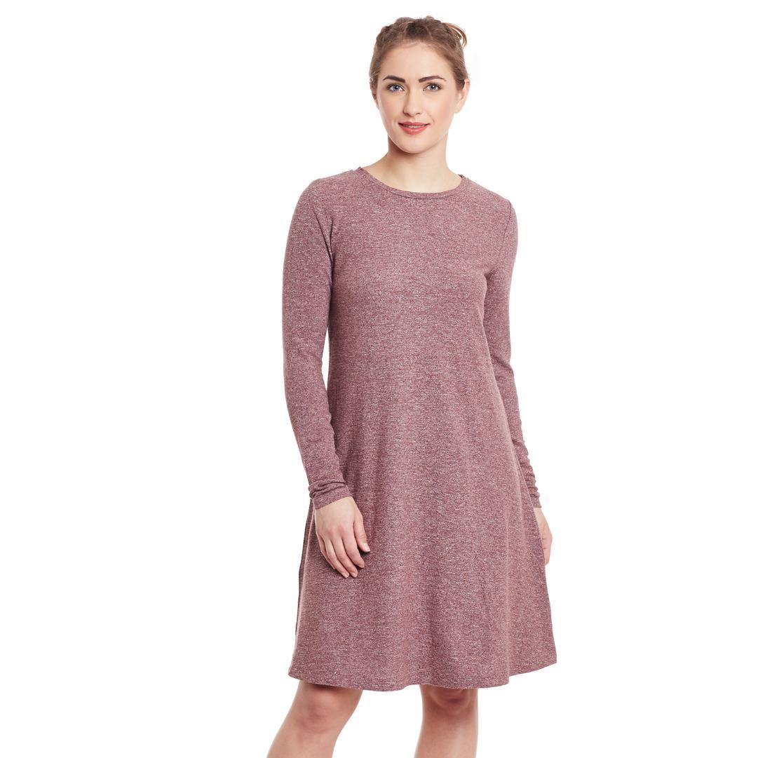 A-Line Cotton Jersey Dress
