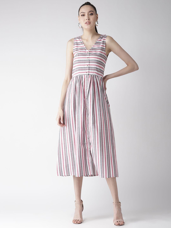 Multi Color Stripe Dress