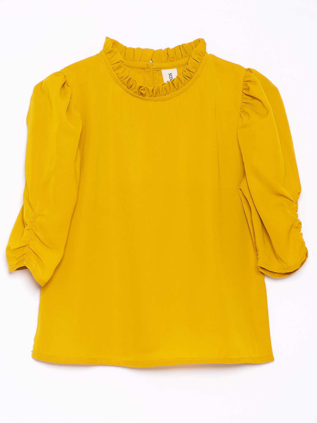 Poly Puff Sleeves top