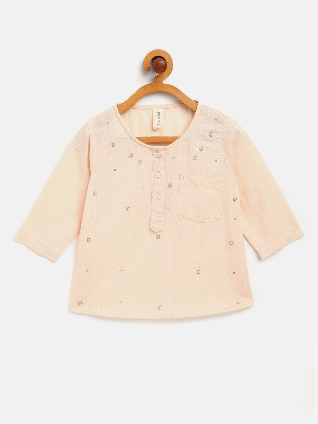 Embellished Blouse with 3/4th sleeve